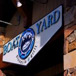 Boatyard on busy Main Street
