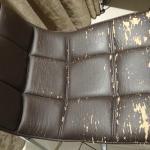 Estado del tapizado de la silla