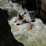 Kayaking this awesome chili river
