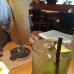 Long Island Ice Tea and Mango Mango Mojito