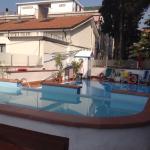 Swimming pool at Hotel Silvano