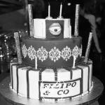 notre gâteau de présentation pour les anniversaires
