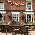 The Maypole Inn Summer flowers