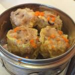 Pork dumplings.