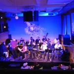 Spectacle de jazz dans la salle attenante au resto !