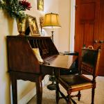 Antique writing desk in the Gadwall.