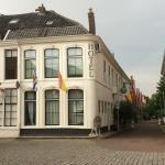 The beautiful exterior of Hotel Zierikzee