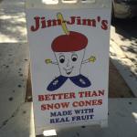 Jim-Jims authentic Italian ice