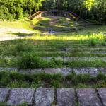 A Roman Amphitheater nearby Heidelberg