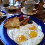 Breakfast at Houmas House