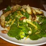 dinner salad with grilled chicken