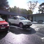 Snow at Katoomba Sky Rider Motel