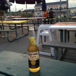 Cold one on the deck