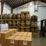 Breckenridge Distillery Barrel Storage Room