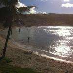 A praia de um outro ângulo