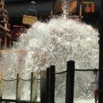 kids splash area. That big bucket dumps water every so often