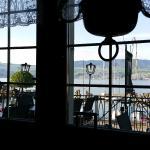 Aussicht aus dem Restaurant auf den See