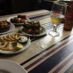 Lunch 3 tapas £6.95 - excellent value ,quality food & staff..