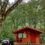 Basic cabins but beautiful views