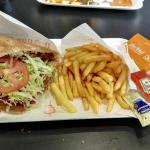 Doner Kebab with extra meat