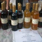 vinegars and syrups made from local ingredients