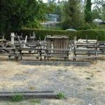 the sites of Capilano RV park