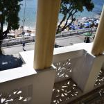 Balcony overlooking the Boardwalk and Beach.