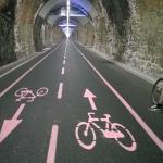 Elio´s Tandem im Tunnel Ospedaletto - San Remo