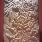 Estela de K'uhul Ajaw, gobernante de la ciudad maya de Chinkultic