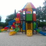 aire de jeu pour les enfants