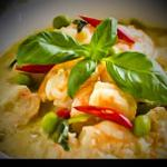 ORGANIKKS THAI GREEN PRAWN CURRY