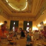 la sala Tosatto dove abbiamo cenato