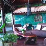 Our main terrace