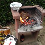 Soirée karaoké et barbecue sur les emplacements des mobils home