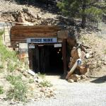 The Hideei Mine entrance.