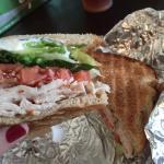 Club Sandwich and IceTea