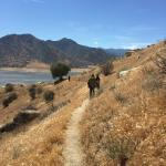 Hike with views of Lake Isabella