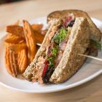 Candied Bacon Turkey Club