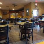 Outside and inside of El Canelo Mexican Restaurant.