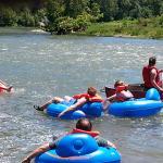 Floating on the Shenandoah River