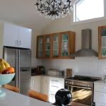 The beautiful kitchen at Topiary Haven.