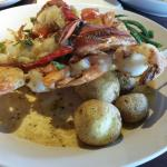Garlic Shrimp and lobster