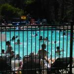 Leavenworth KOA pool a very popular area. Lol