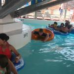 Long looping lazy river