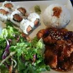 Chicken Teriyaki and Spicy Tuna Roll Combo