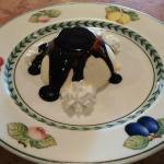 panna cotta al cioccolato fatta in casa dalla nostra fantastica cuoca