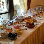 Buffet colazione, ottimo