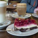 cheesecake and coffee!