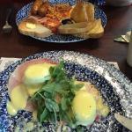 Eggs Benedict & large breakfast
