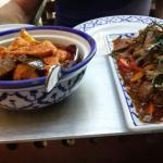Leuk  restaurant.  Het het thais  eten  valt  tegen  zaterdag  daar gegeten  en het eten  was en